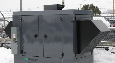 diesel powered cabinet